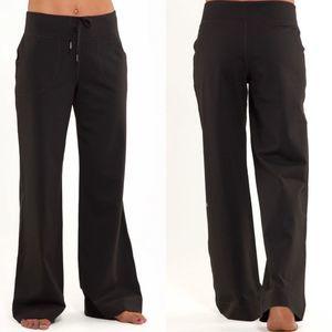 Lululemon Still Pant Black Wide Leg Yoga Pant